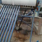 Vệ sinh xúc rửa máy năng lượng mặt trời