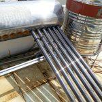 Máy năng lượng bị rò nước ống thủy tinh có phải thay ron hay không?